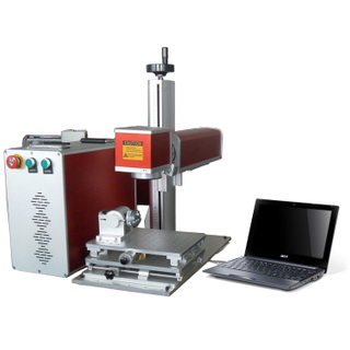 Best Sell Raycus Ipg 20w 30w 50w Fiber Laser Marking Machine Lazer Marking Machines