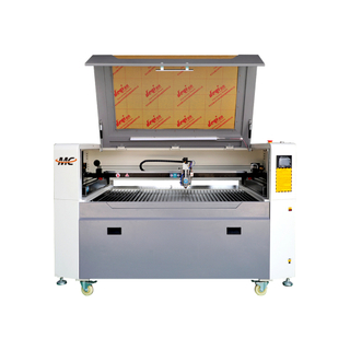 Double Head 150w 300w Mixed Co2 Metal And Non-metal Laser Cutting Machine